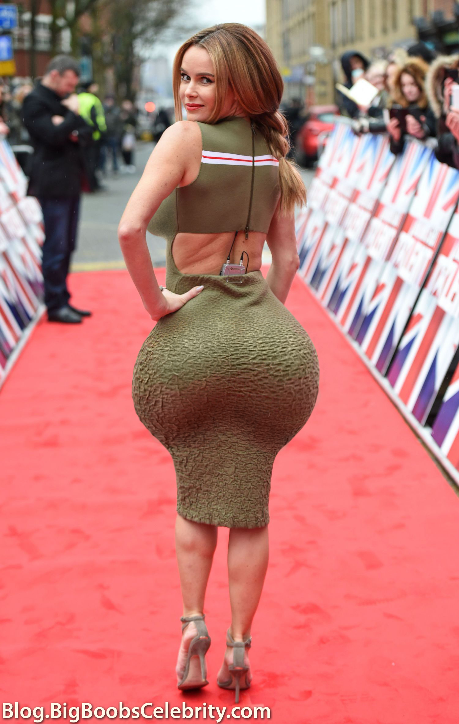 Amanda Holden Tits amanda holden huge ass at britains got talent auditions