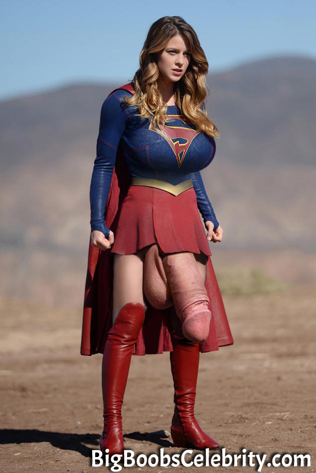 Supergirl secret weapon under her skirt - Kabukas Morphs