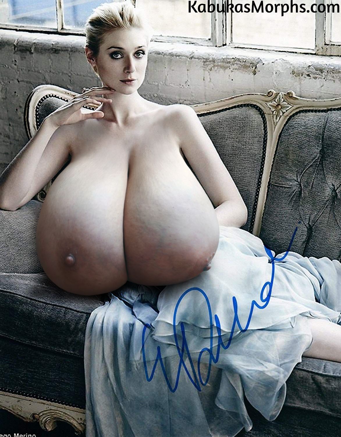Tits giant saggy Wanker Lab