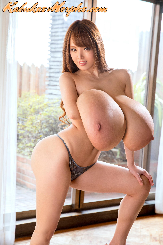 Hitomi tanaka boobs Hitomi Tanaka Breasts And Ass Expansion Kabuka S Morphs